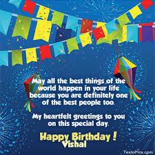 happy birthday vishal photo