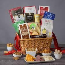 snack gift basket premium by