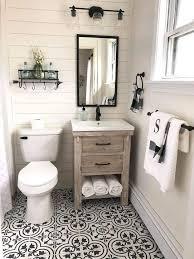 decorating bathrooms farmhouse interior