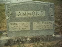 "Nancy Adeline ""Addie"" Morgan Ammons (1869-1948) - Find A Grave Memorial"