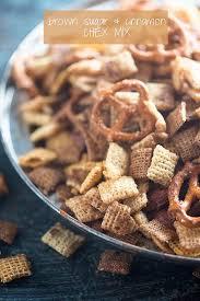 cinnamon sugar chex mix recipe sweet