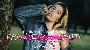 Francesca Smith ll Behind The Scenes ll canon 77d - YouTube