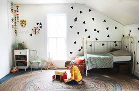 Triangle Wall Decals Levi S Room The Merrythought