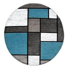 wade logan barroso geometric blue gray