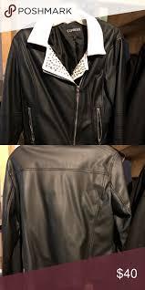 beautiful express leather jacket
