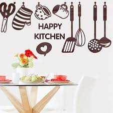 Hot Selling Nice Creative Kitchen Cooking Utensil Spatula Vinyl Removable Wall Decal Decor Paster Buy At A Low Prices On Joom E Commerce Platform