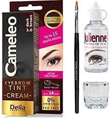 delia cameleo eyebrow tinting kit set