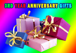 15 best 3 year anniversary gifts for