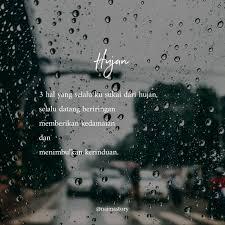 positive vibes on jadi apa kabar hujan hujan rindu