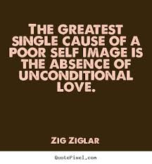 the greatest single cause of a poor self image zig ziglar famous