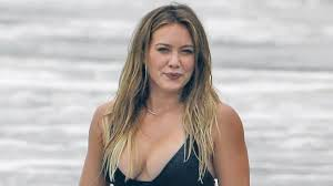 Hilary Duff Slays in a Black Bikini While Enjoying a Beach Day ...