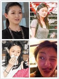 celebrities without makeup china org cn