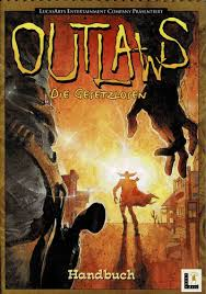 Outlaws (1997) Windows box cover art - MobyGames