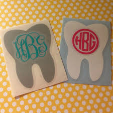 Personalized Vinyl Dental Hygienist Tooth From Grayceinspired On