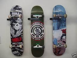 old school skateboard hanger display