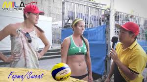 Mila Beach Report mit Jennifer Fopma und Brooke Sweat. Grand Slam ...