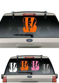 Buy 2 Get 1 Free Bengals Car Decal Various Size Color Window Sticker Flag Cincinnatibengals Football Decal Sticker Flag Window Stickers