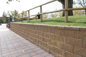 Cornerstone Block Retaining Wall Fence Post On Top Cornerstone Wall Solutions