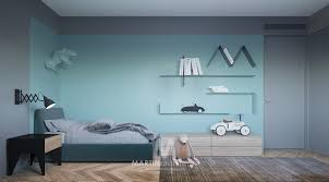 Cool Apartment With Contemporary Calming Color Scheme Stylish Kids Room Cool Kids Bedrooms Kids Room Design