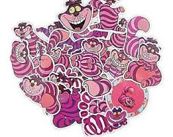 Cheshire Cat Decal Etsy