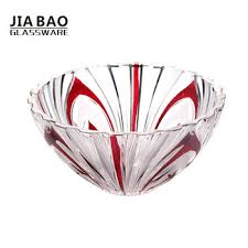 11 inch round glass bowl glass giftware