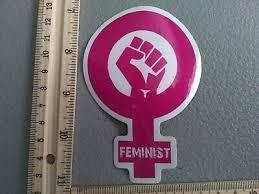 Feminism Feminist Macbook Laptop Car Wall Vinyl Glitter Decal Sticker 178