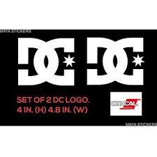 dc logo sticker decal for yamaha fz