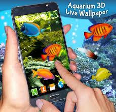 aquarium 3d live wallpaper for android