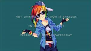 rainbow dash kk kkhgh anime rainbow