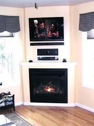 fireplace how to mount a t v above