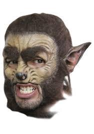 deluxe werewolf mask mens werewolf masks