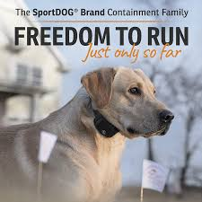 Sportdog Brand In Ground Fence System Underground Wire Dog Containment Kit Waterproof Collar With Tone Vibration And Shock Expandable To Multiple Dogs Amazon Ca Pet Supplies