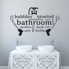 Bathroom Toilet Wall Sticker Word Cloud Word Montage Vinyl Decal Art Transfer Wall Stickers Words Harry Potter Wall Decor Cheap Wall Decals