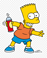 clipart bart simpson png