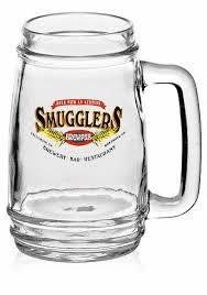 custom glass beer mugs personalized