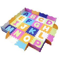 Baby Play Mat With Fence Foam Letters And Tiles Playmat For Kids Toddlers Infants Tummy Time Mat Ball Pit Activity Center Gym Floor Playpen 57 X 57 Over 74 Across On Galleon Philippines