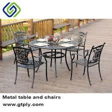 outdoor furniture dining set cast