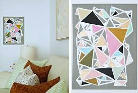 50 diy wall art unique easy ideas