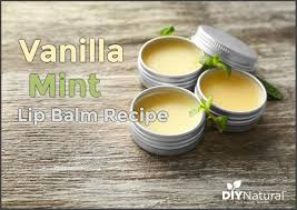 vanilla mint lip balm recipe