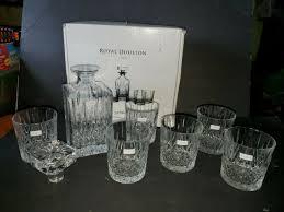 royal doulton crystal 28 ounce decanter