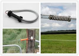 Electric Fence Springs Your Best Electric Fence Gate Hardwares Supplier