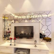 18cm 7pcs diy acrylic modern mirror