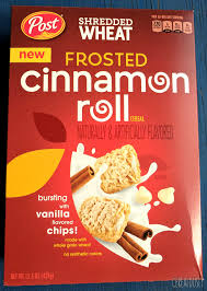 frosted cinnamon roll shredded wheat cereal