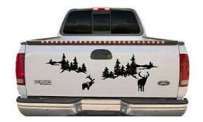 Elk Window Or Tailgate Sticker This 40 Inch Wide Decal Comes In Two Parts For Ease Of Placement On Your Tailgate Or Rear Window Decals Vinyl Signs Vinyl