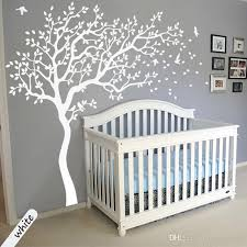 Large Size White Tree Wall Stickers Diy Home Decoration Wall Decals Modern Art Murals For Living Room Bedroom Kids Room Baby Room Wall Stickers Baby Wall Decal From Hayoumart4 75 19 Dhgate Com
