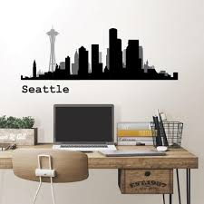 Cityscapes Wall Decals Wall Decor The Home Depot