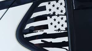 Kia Optima Window Flag Decal S