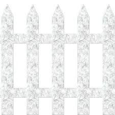 Picket Fence Wall Decal Wayfair