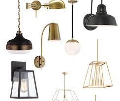 lighting lamps plus bathroom vanity