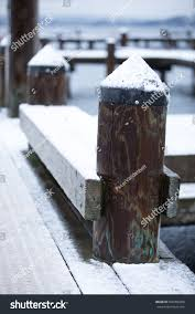 Wood Log Post Plastic Cone Cap Stock Photo Edit Now 606456860
